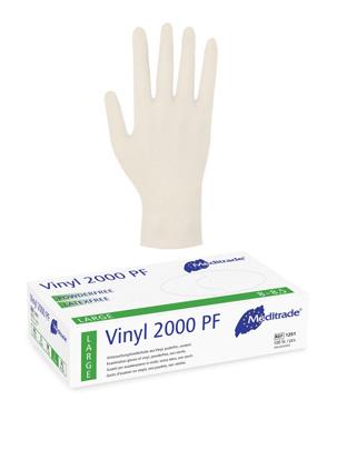 Ochranné vinylové rukavice